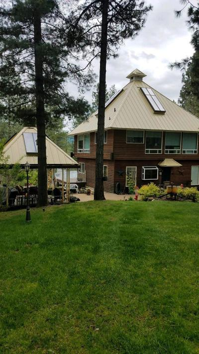 Shoshone County Single Family Home For Sale: 483 Paradise Rd