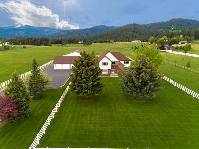 Coeur D'alene Single Family Home For Sale: 6745 W Meadowbrook Loop