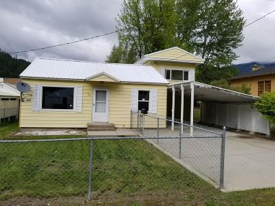 Shoshone County Single Family Home For Sale: 308 E Idaho Ave