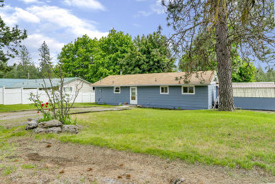 Rathdrum Single Family Home For Sale: 7678 W Idaho St