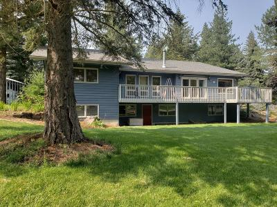 Hayden Single Family Home For Sale: 9712 N Circle Dr