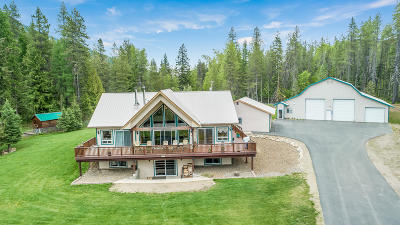 Sandpoint Single Family Home For Sale: 4864 Upper Pack River Road