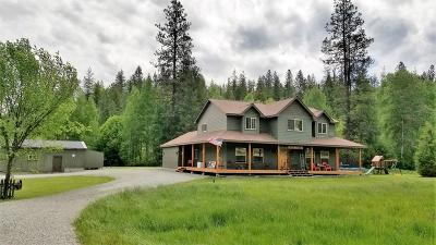 Shoshone County Single Family Home For Sale: 235 French Gulch Rd