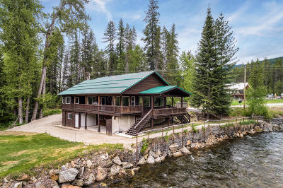 Sandpoint Single Family Home For Sale: 4829 Upper Pack River Rd