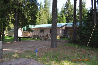 Priest Lake Single Family Home For Sale: 28047 Highway 57