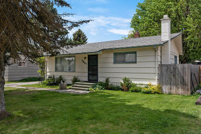 Coeur D'alene Single Family Home For Sale: 1937 N 8th St