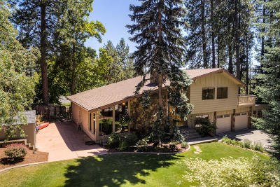 Coeur D'alene Single Family Home For Sale: 1796 N Hill Dr