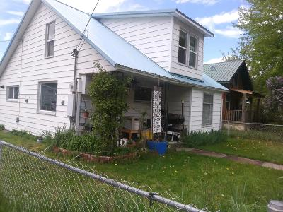 Shoshone County Single Family Home For Sale: 401 W. Mission Ave.