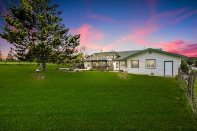 Coeur D'alene, Dalton Gardens Single Family Home For Sale: 7344 E Borley Rd