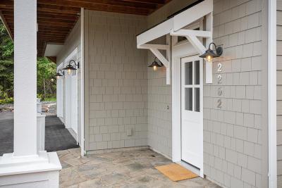 Hayden Single Family Home For Sale: 2292 E Upper Hayden Lake Rd