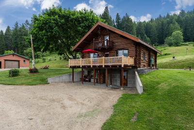Bonners Ferry Single Family Home For Sale: 551 Farm To Market Road