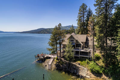 Coeur D'alene Single Family Home For Sale: 1750 W Valhalla Rd
