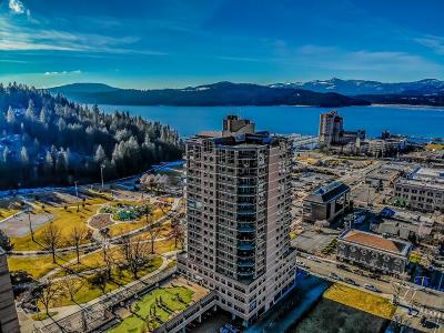 Coeur D'alene Condo/Townhouse For Sale: 601 E Front Ave #802