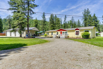 Shoshone County Mobile/Manufactured For Sale: 32 Ross Gulch Rd
