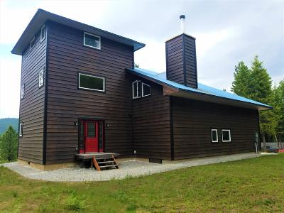 Sandpoint Single Family Home For Sale: 1690 Bowen Arrow Rd