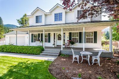 Coeur D'alene Single Family Home For Sale: 2674 E Thomas Hill Dr