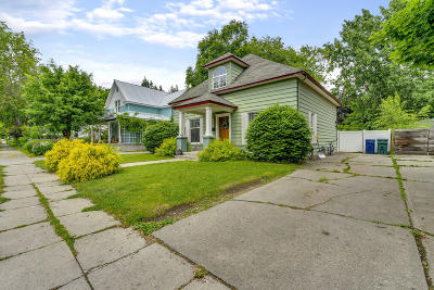 Coeur D'alene Single Family Home For Sale: 952 N 5th St