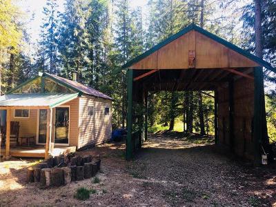 Sandpoint Single Family Home For Sale: 8213 Rapid Lightning Rd