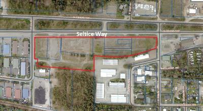 Hauser, Post Falls Residential Lots & Land For Sale: NKA Seltice Way
