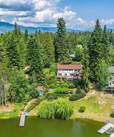 Sandpoint Single Family Home For Sale: 624 Whiskey Jack Rd