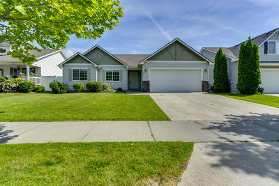 Post Falls Single Family Home For Sale: 1521 W Yaquina Dr