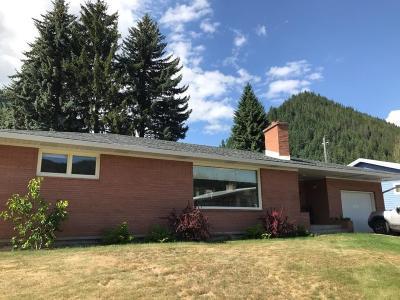Shoshone County Single Family Home For Sale: 109 W Oak Ave