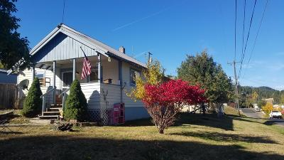 St. Maries ID Single Family Home For Sale: $110,000
