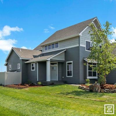 Coeur D'alene, Dalton Gardens Single Family Home For Sale: 4163 W Homeward Bound Blvd