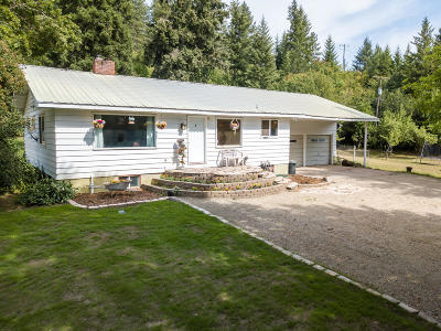 St. Maries Single Family Home For Sale: 88609 Hwy 3 North