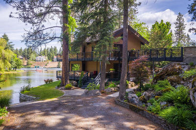Coeur D'alene Single Family Home For Sale: 8485 W Granite Point Rd