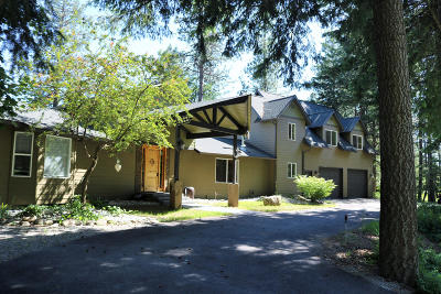 Rathdrum Single Family Home For Sale: 4801 W Charlies Place
