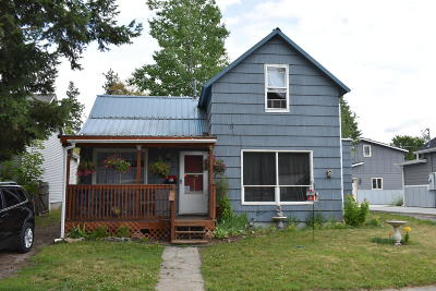 Coeur D'alene Single Family Home For Sale: 828 N 6th St