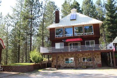 Shoshone County Single Family Home For Sale: 483 Paradise Lane