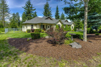 Rathdrum Single Family Home For Sale: 22199 N Ranch View Dr