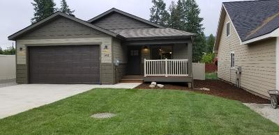 Priest River Single Family Home For Sale: 160 White Way
