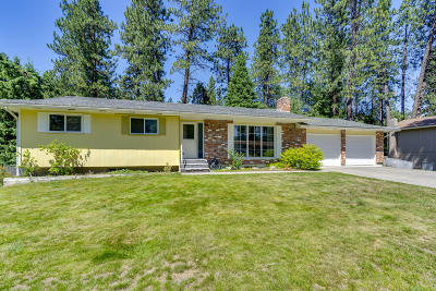 Hauser Lake, Post Falls Single Family Home For Sale: 4715 E Woodland Dr