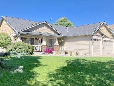 Coeur D'alene Single Family Home For Sale: 5943 N Harcourt Dr