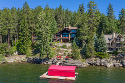 Coeur D'alene Single Family Home For Sale: 1778 W Valhalla Rd