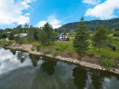 Priest Lake, Priest River Single Family Home For Sale: 4399 Peninsula Rd