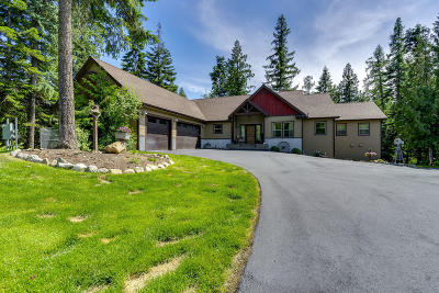 Rathdrum Single Family Home For Sale: 3170 W Mack Ln
