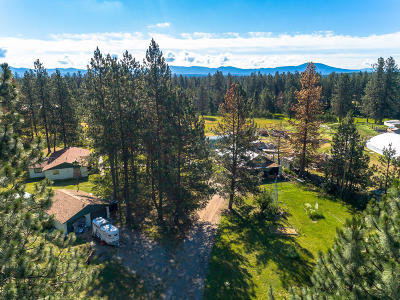 Rathdrum Single Family Home For Sale: 7844 W Diagonal Rd