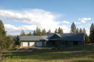 Coeur D'alene, Dalton Gardens Single Family Home For Sale: 5050 S Mica Springs Rd