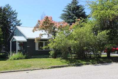 Sandpoint Single Family Home For Sale: 1323 Lake St