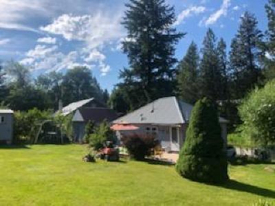 Shoshone County Single Family Home For Sale: 101 Shiplett Rd