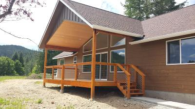 Shoshone County Single Family Home For Sale: 45 River Otter Ln