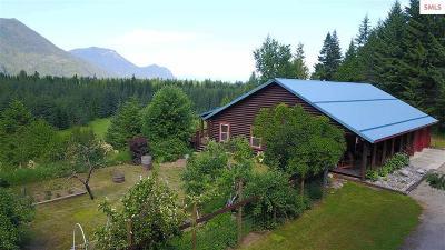 Clark Fork Single Family Home For Sale: 58114 Highway 200