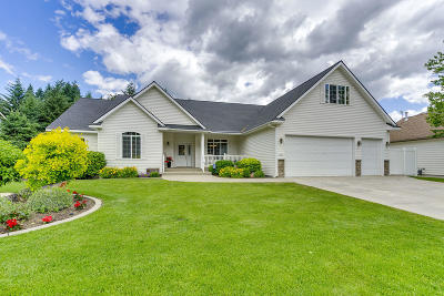 Rathdrum Single Family Home For Sale: 5261 W Broken Tee Rd