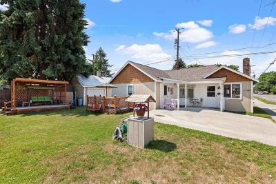 Coeur D'alene Single Family Home For Sale: 1147 N 7th St.
