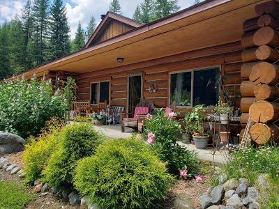 Bonners Ferry Single Family Home For Sale: 189 Vaquero Rd