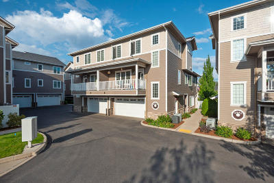 Coeur D'alene Condo/Townhouse For Sale: 4453 W Greenchain Loop #7